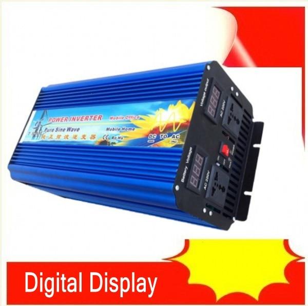 4000W Pure Sine Wave Inverter DC to AC Power Inverters, 8000W Peak Power, 4000 Watt Wind Solar Off Grid System Inverter