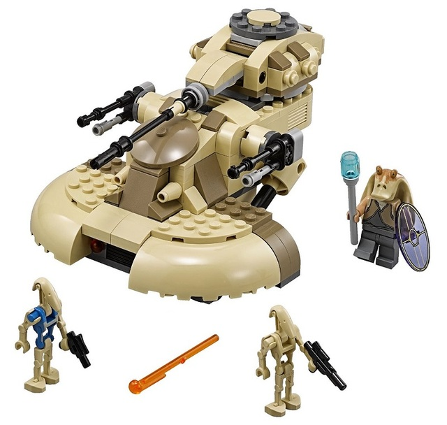 221 unids AAT tanques de STAR WARS Building Blocks robot Buitre minis niños Ladrillos Educativos Juguetes Compatible con Leping 10371