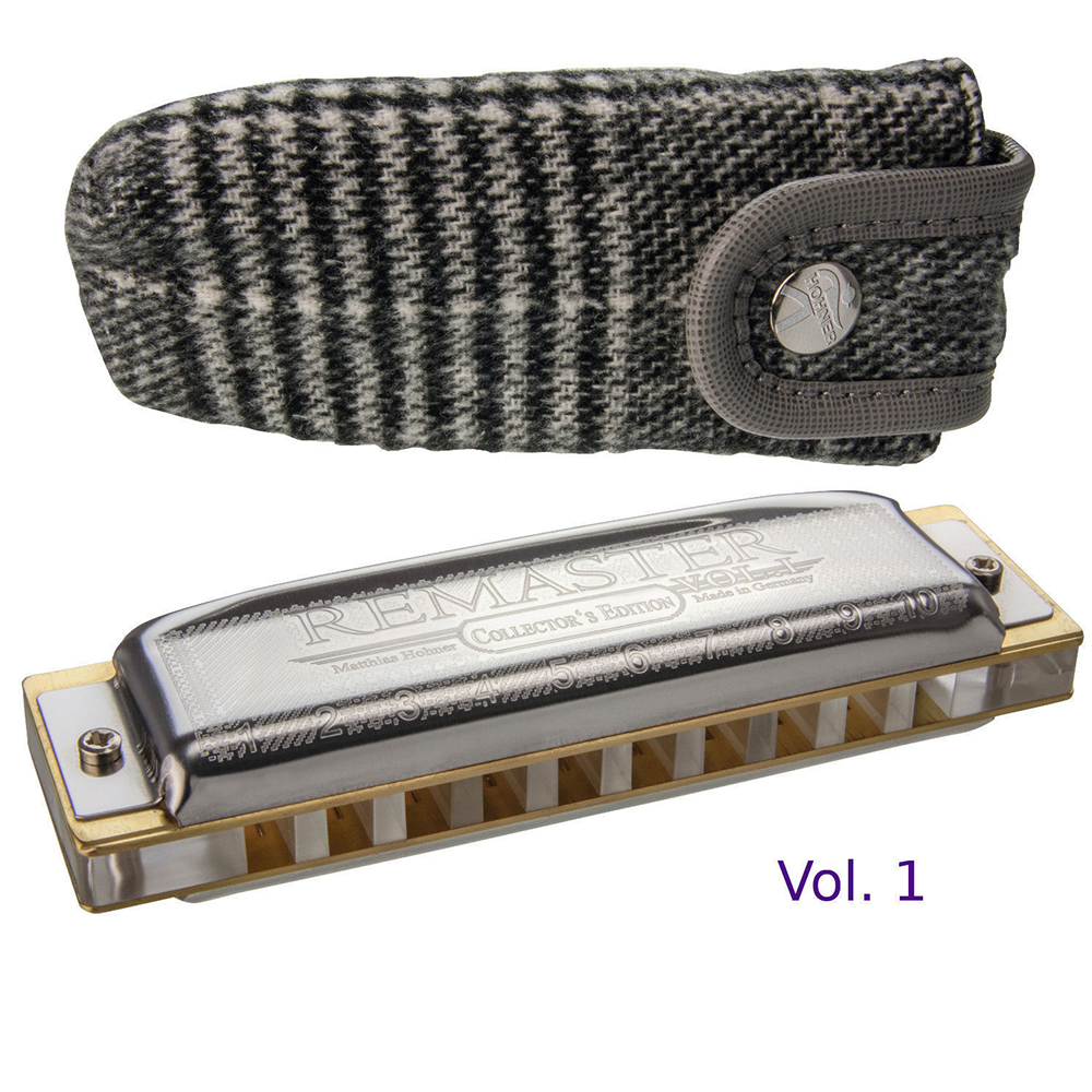 Hohner Collector's Edition Remaster Diatonic Harmonica 10 Hole Mouth Organ Key Of C Blues Harp Musical Instruments German Hohner easttop brass chromatic harmonica 16 hole brass abs comb musical instruments mouth organ chromatic slide harmonica good sound