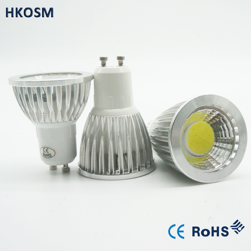 Oem Wholesale Gu 10 Bulbs Light Dimmable Gu10 Led Spot Warm White Gu10 Led 6w 9w 12w Cob Gu10