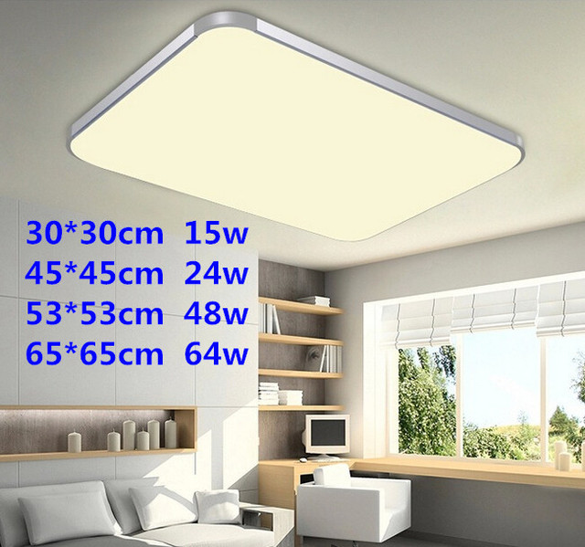 Hot selling led ceiling light ultra thin modern living room dining