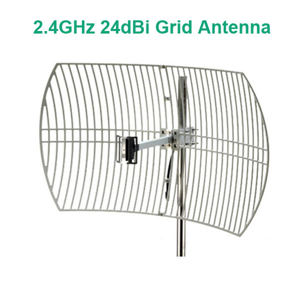24dbi 2 4ghz wireless wifi grid antenna parabolic antenna