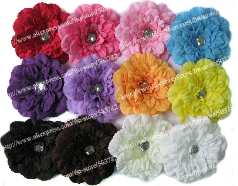 """100 шт. """" цветок ромашка заколки для волос цветок Гербера Сменные заколки/цветочные аксессуары для волос/волосы цветы"""
