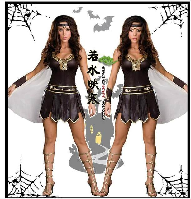 Sexy spartan costumes