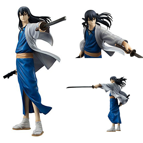 NEW hot 20cm GINTAMA Katsura Kotarou action figure toys collection Christmas gift doll with box new hot 23cm naruto haruno sakura action figure toys collection christmas gift doll no box