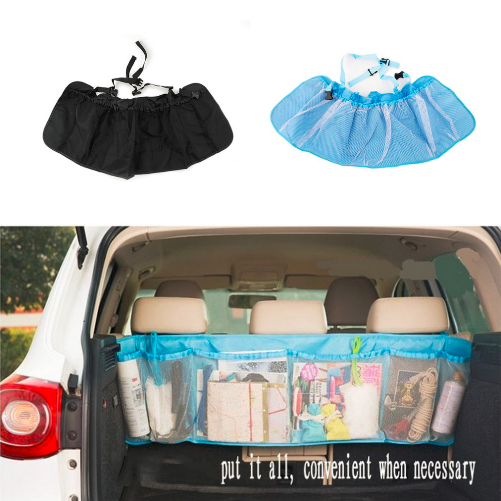 Car Trunk Organizer Seat Cover Toys DVD Storage Container Bags Automobiles pouch Auto Styling Accessories