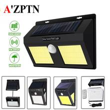 LED Solar Light PIR Motion Sensor Waterproof Wall Light For Outdoor Yard Garden Security Lamp цена в Москве и Питере