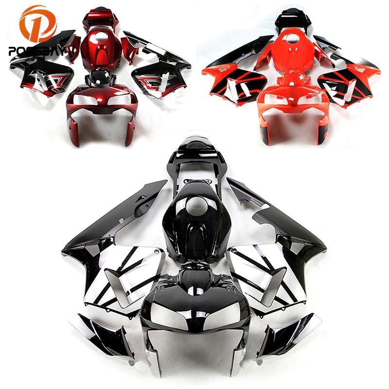 POSSBAY 3Styles Motorcycle Fairings Kits Fit for Ducati 848 1098 1198 2007 2012 Motorcycle Body Fairing kit Bodywork Kit