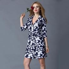 New Arrival Brand Design Black White Chain Summer Dress V Collar Lace-Up Open Fork Slim Wrap Romper Women Dress AD-27