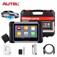 Autel все Системы MaxiCom MK808BT OBD2 Авто сканер Бортовая Система диагностики 2 автомобиля диагностический сканер Automotivo Automotriz сканер