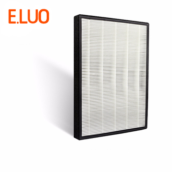 Hepa filter of  air purifier parts for 3M KJEZ200E/2066/2068  with 390*280*35mm