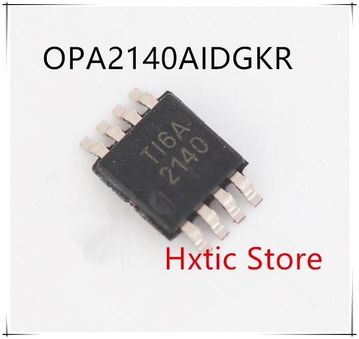 NEW 10PCS LOT OPA2140AIDGKR OPA2140AIDGK OPA2140 2140 OPA2140AIDGKT MSOP 8 IC