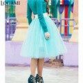 7 layer adultos maxi larga de tul falda lolita faldas para mujer de falda tutú mujeres vintage saia jupe 2016 american apparel