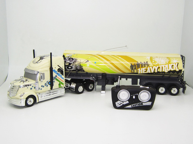 Kingtoy Detachable Electric Remote Control Big Size 1:32 RC 6CH Container  Heavy Truck With
