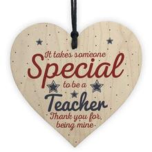 Особенный быть учителем деревянные в форме сердца ремесла Рождественский