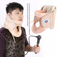 New Household Cervical Collar Neck Brace Air Traction Therapy Device Relax Pain Relief Neck Support Fixture Neck Traction Brace