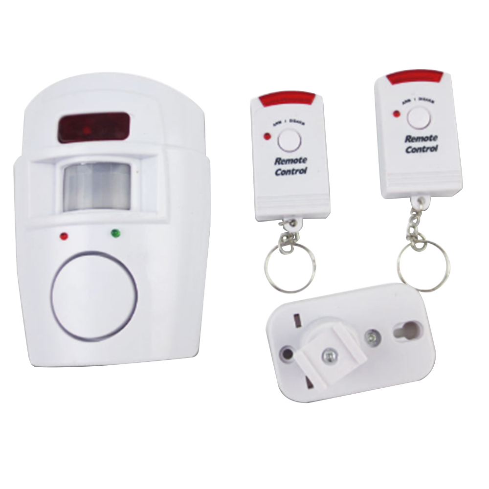 Home Security PIR MP Alert Infrarot Sensor Anti-diebstahl Motion Detektor Monitor Drahtlose Alarm System 2 Remote Controller