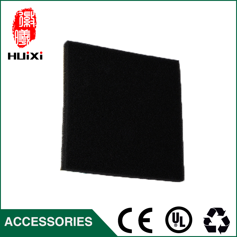 High Efficient 2 pcs black filter cotton to filter Air the original of vacuum cleaner parts  hepa filter D-928  D-929 original oem vacuum cleaner air inlet filters protect motor filter efficient filter dust 116x114mm vacuum cleaner parts