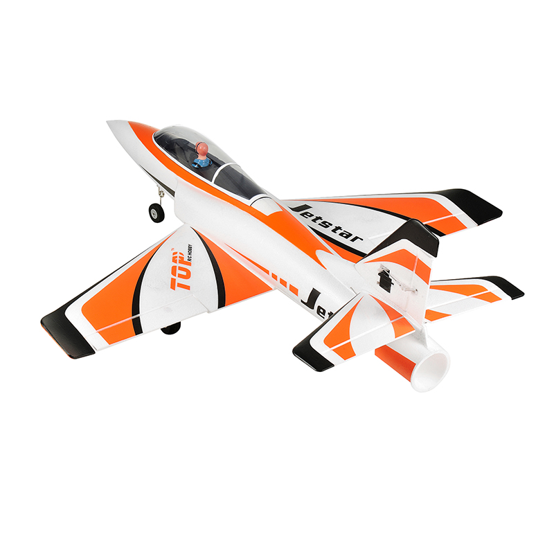 Top RC  Jet Star KIT Version Rc  Model 65mm EDF Plane