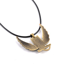 Fairy Tail Bronze Alloy Owl Necklace Chain