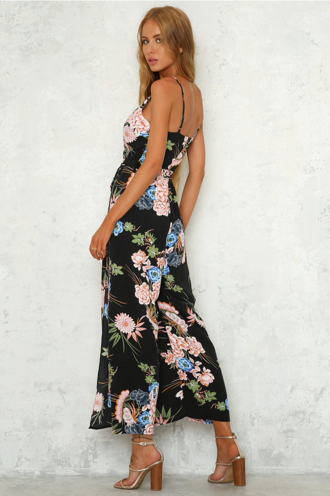 7fb6759c0f 1 2 3 4 5 6. Related Products from Other Seller. Floral Print Backless  Pocket Jumpsuit Sexy Strap Bandage Long Palysuit Boho Rompers Summer casual  ...