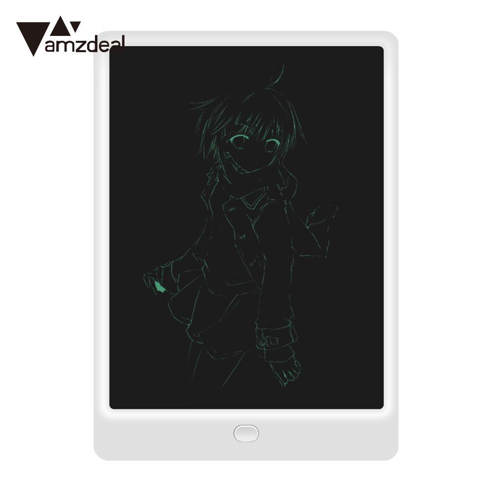 AMZDEAL Portable 10 Inches LCD Writing Tablet Drawing Board Graffiti Board Graphics Tablet with Stylus for Children Gift image