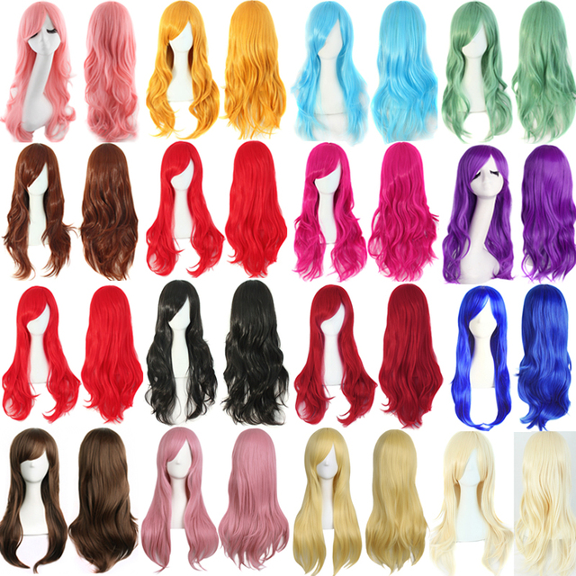 d0b3b68d87d108 Long Curly Synthetic Hair 28