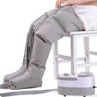 Ev Aletleri'ten Elektrikli Isıtıcılar'de Pnömatik ayak masaj aleti Yoğurma Ayak Bacak Masaj Aleti Elektrikli Hava Dalga Basınç Fizyoterapi Masaj