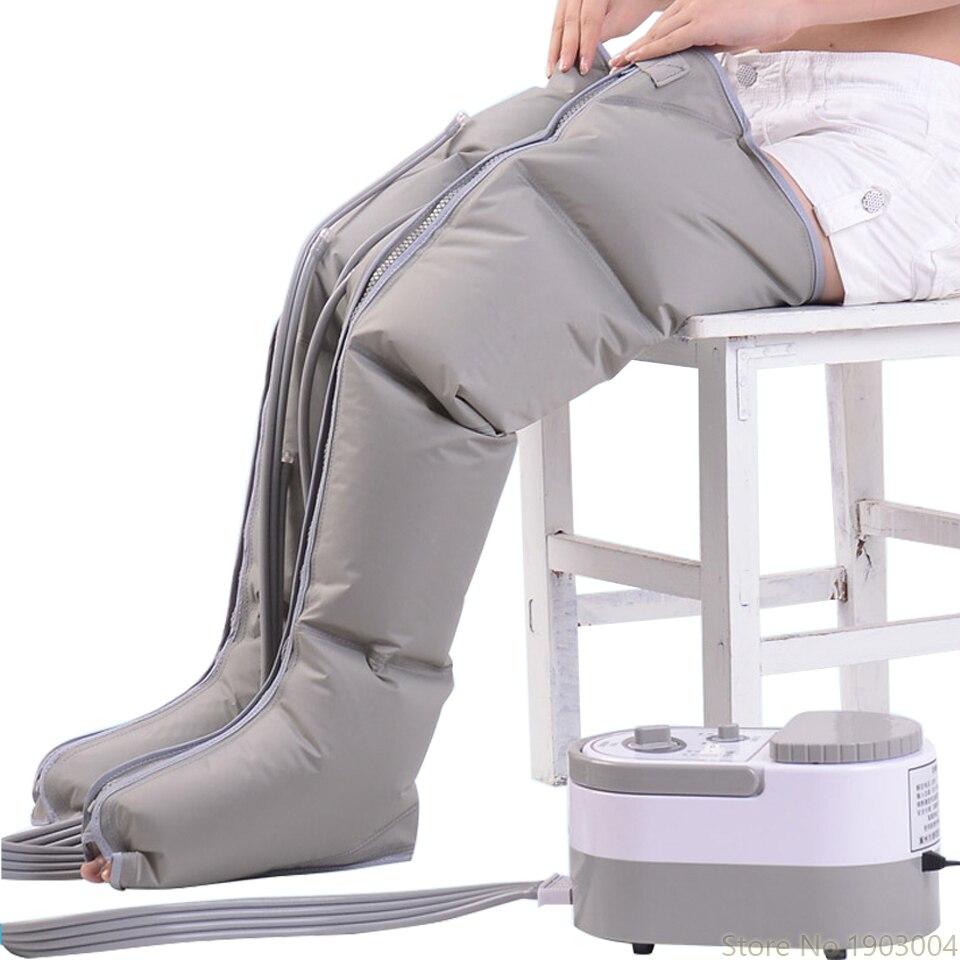 Pneumatische Been Massager Kneden Voet Been Massage Instrument Elektrische Air Wave Druk Fysiotherapie Massage-in Elektrische kachels van Huishoudelijk Apparatuur op  Groep 1