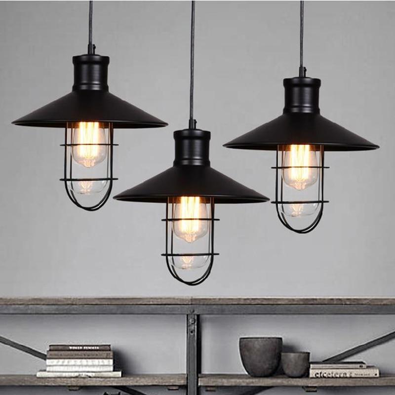 rustic pendant light industrial pendant lights vintage led pendant lamps hanging lamps warehouse retro hang lamp light for bar