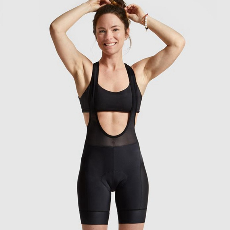 all black woman cycling <font><b>bib</b></font> <font><b>shorts</b></font> 2019 New brand cycle Classic <font><b>bib</b></font> <font><b>short</b></font> trisuit women Fit bicycle bottom fondo in bicicletta image