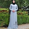 2017 Новых женщин исламская одежда абая платье плюс размер женщин-мусульманок длинное платье арабский платье женщины хиджаб турецкий кафтан