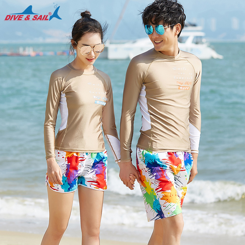 couples matching swimwear