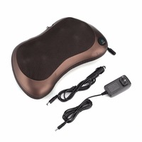 Multi Function Neck Waist Back Leg Body Massager Dual Use Car Home Massage Pillow Cushion Electric