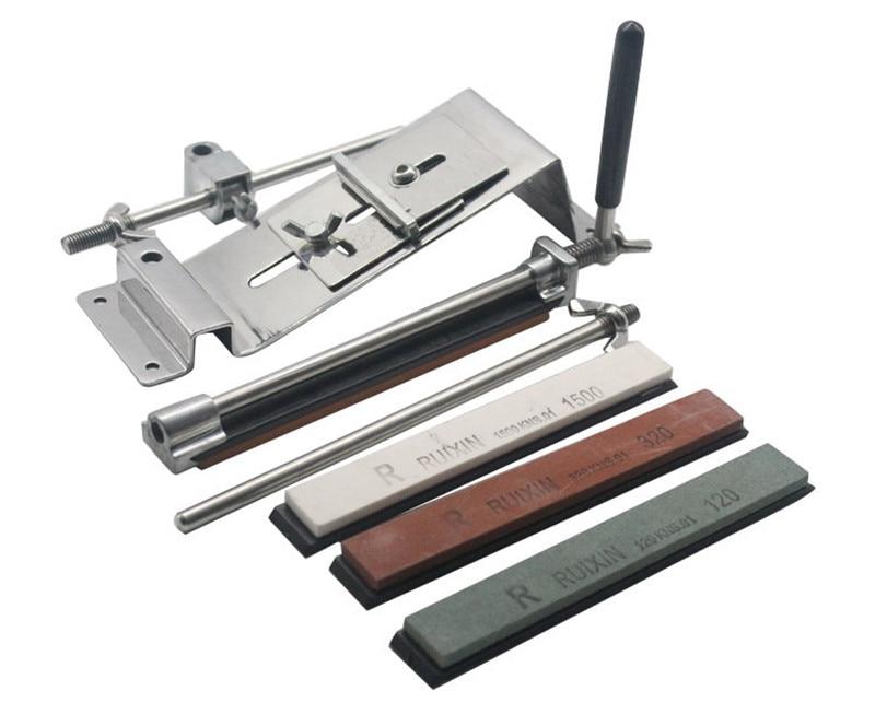 Точилка для ножей из нержавеющей стали, Профессиональная кухонная точилка для ножей, точилка для заточки, фиксированный угол с камнями angle steel angle knife sharpenerangle sharpener   АлиЭкспресс