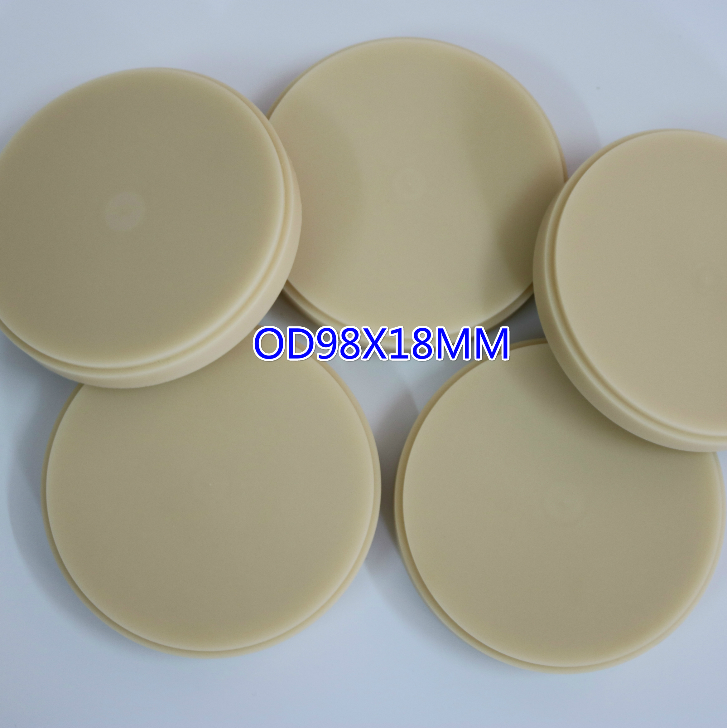 10Pieces Dental PMMA Blocks Disk Lab Material Temporary Crown Blank Discs Consumables A1 A2 A3 Transparent Acrylic Block
