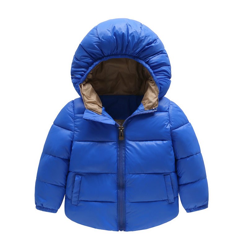 Down Jacket 2017 Winter Warm Cotton New 2-6Y Coat Baby Boy Girls Outerwear Spring Autumn Kids Children Down Coats Clothes Gift children winter coats jacket baby boys warm outerwear thickening outdoors kids snow proof coat parkas cotton padded clothes