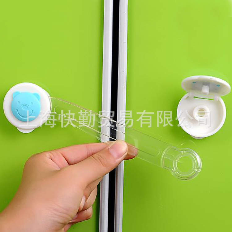 Lengthening childrens drawer locks, cubs, refrigerator locks, hand guards, baby safety windows, door locks