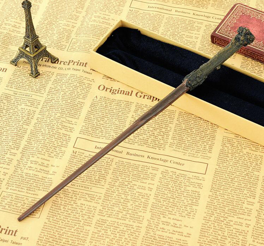 Colsplay Metal Core Newest Quality Deluxe COS Harry Potter Magic Wands Stick with Gift Box packing