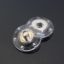 10 шт./партия невидимые прозрачные полимерные Кнопки круглые пластиковые кнопки для кардигана пальто сумки ремонт
