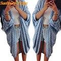 Новый Дизайн Женщин Леди Осень Зима Повседневная Вязать Длинное Пальто Кардиган Свитер 160923 Drop Доставка Womail
