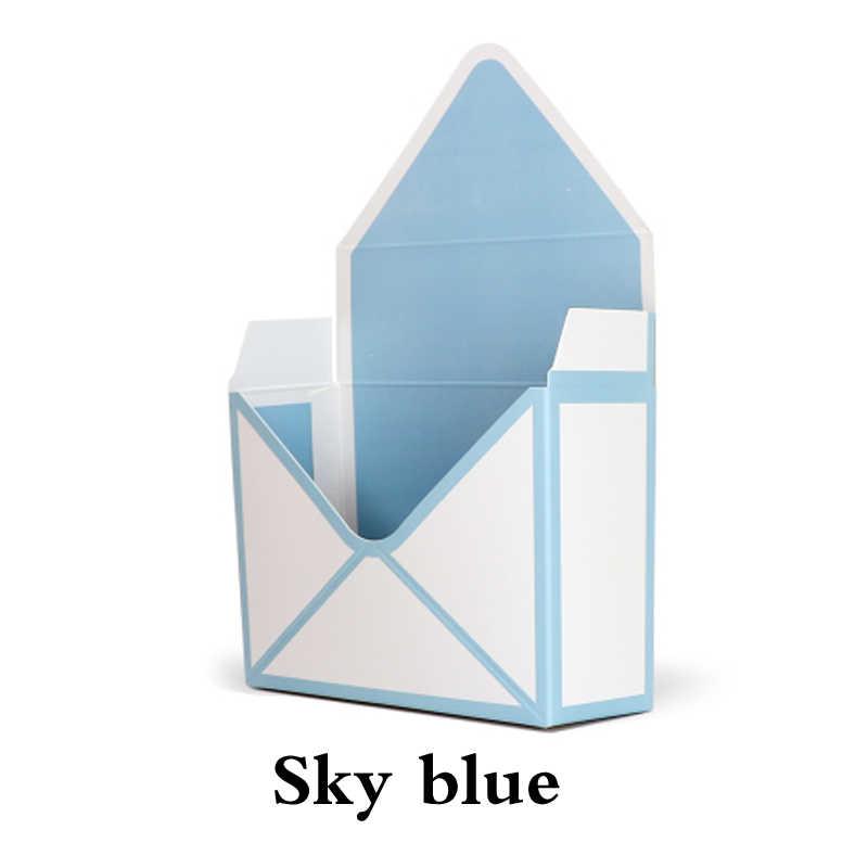 35*24*8Cm Creatieve Envelop Fold Bloem Doos Bloemen Doos Materiaal Rose Decoratie Gift Box Bloem Maken hand