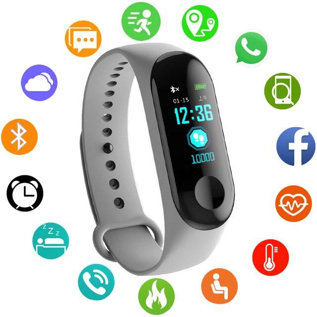 Sport Bracelet Smart Watch Children Kids Watches For Girls Boys Electronic LED D