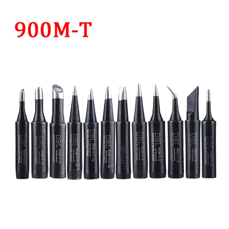 Lead-free Soldering Iron Tip 900M Serise Sting Welding Tools 900M-T-K 900M-T-I 900M-T-IS For 936 Soldering Station 10pcs lot lead free welding solder soldering iron tips 900m t k for 936 soldering station
