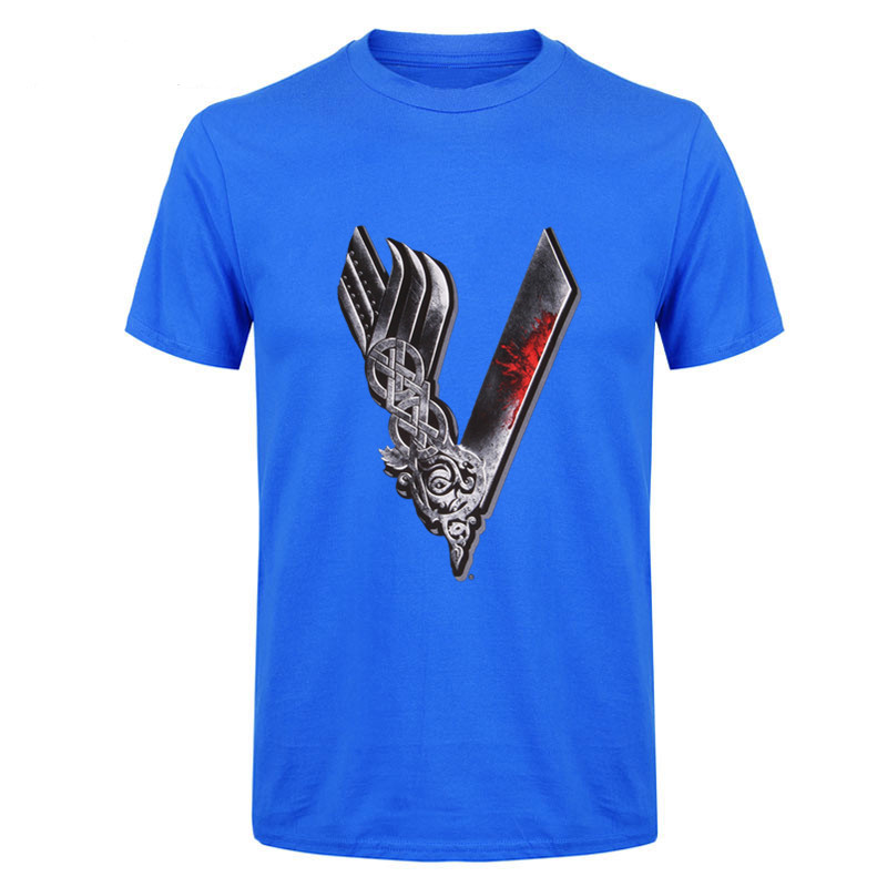 7b96b2f04 Product Name: Gorgeous Youth Funny Viking T Shirts Men Boys 100% Cotton  Short Sleeve Odin Vikings Group Tops Tee Clothing Men Vikings T-shirts