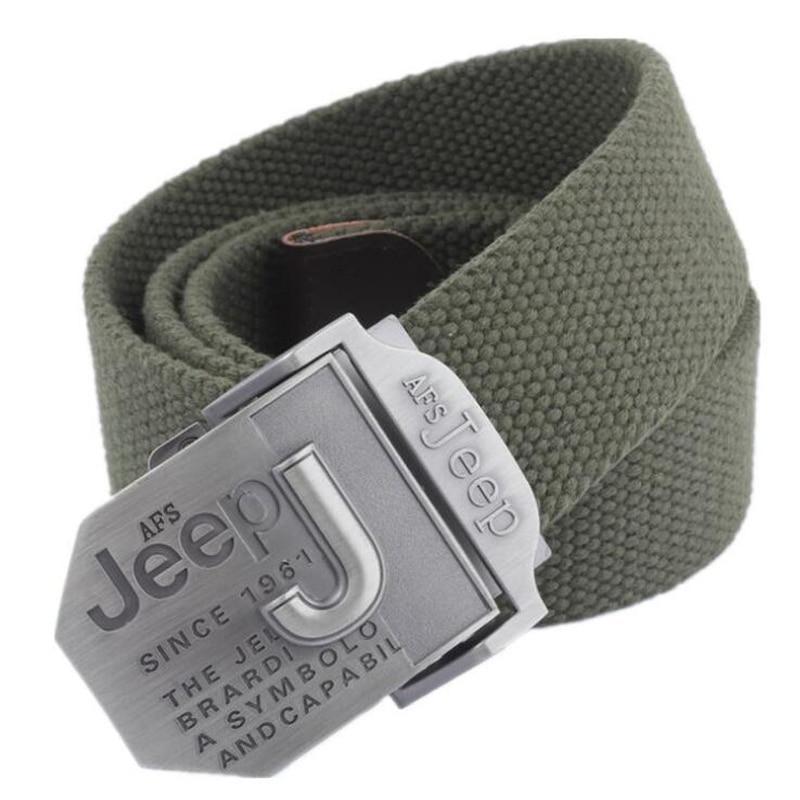 AFS JEEP Mens Belt Luxury Designer Belt Men Military Men's Jeans Belts Ceinture Homme Cinto Masculino Cinturones Hombre