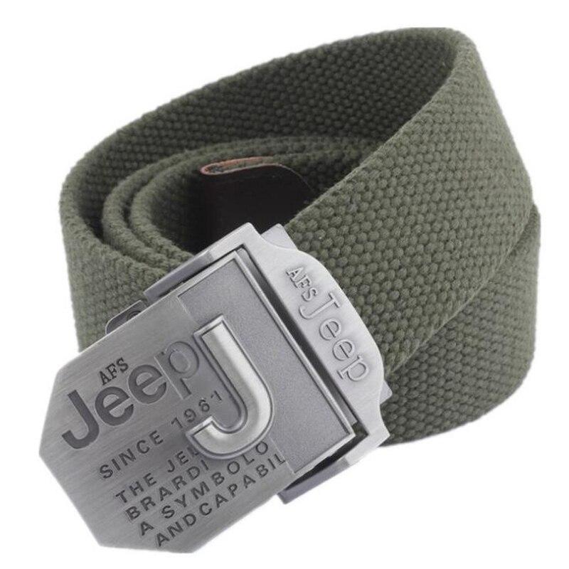 Afs jeep homens cinto de luxo designer cinto masculino militar jeans cintos ceinture homme cinto masculino cinturones hombre