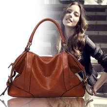 Frauen Aus Echtem Leder Hot The Female Ledertasche Neue Frauen Taschen 2014 Frauen Umhängetasche Vintage Handtasche Designer Retro X0-073
