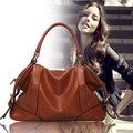 Women Genuine Leather Hot The Female Leather Bag New Women Bags 2017 Women Messenger Bag Vintage Handbag Designer Retro X0-073