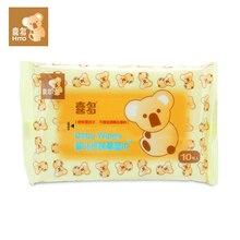 10 шт. hito детские влажные салфетки пищевой детские уход за кожей мягкие салфетки с чистой водой и мягкой, не-ткани